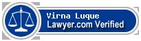 Virna Cecilia Luque  Lawyer Badge