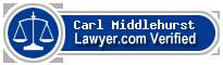Carl Roderick Middlehurst  Lawyer Badge