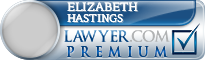 Elizabeth Ann Hastings  Lawyer Badge