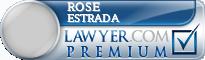 Rose Marie Estrada  Lawyer Badge