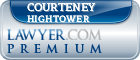 Courteney Ann Hightower  Lawyer Badge