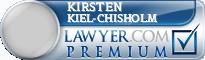 Kirsten Anne Kiel-Chisholm  Lawyer Badge