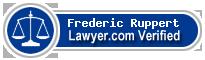 Frederic Georg Ruppert  Lawyer Badge