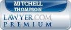Mitchell Frederick Thompson  Lawyer Badge