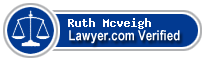 Ruth Marie Mcveigh  Lawyer Badge