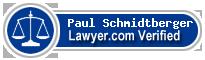 Paul Stephen Schmidtberger  Lawyer Badge
