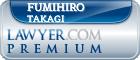 Fumihiro Takagi  Lawyer Badge