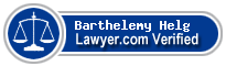 Barthelemy Laurent Helg  Lawyer Badge