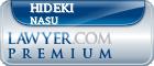 Hideki Nasu  Lawyer Badge