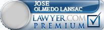 Jose Ignacio Olmedo Lansac  Lawyer Badge