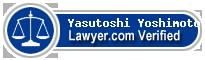Yasutoshi Yoshimoto  Lawyer Badge