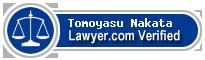 Tomoyasu Nakata  Lawyer Badge