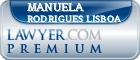 Manuela Rodrigues Lisboa  Lawyer Badge