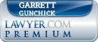 Garrett Greggrey Gunchick  Lawyer Badge
