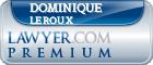Dominique Valerie Leroux  Lawyer Badge