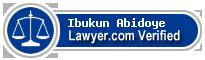 Ibukun Oluwaseyi Abidoye  Lawyer Badge