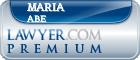 Maria Theresa Abe  Lawyer Badge