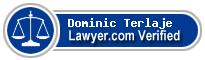 Dominic S Terlaje  Lawyer Badge