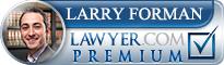 Larry Forman  Lawyer Badge