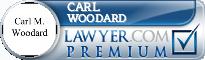 Carl M. Woodard  Lawyer Badge
