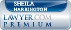 Sheila C. Harrington  Lawyer Badge
