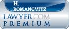 H. Drew Romanovitz  Lawyer Badge