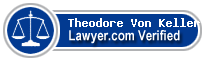 Theodore Von Keller  Lawyer Badge