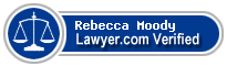 Rebecca Cates Moody  Lawyer Badge