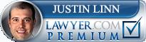 Justin Earl Linn  Lawyer Badge