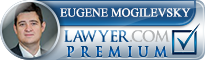 Eugene Gregory Mogilevsky  Lawyer Badge