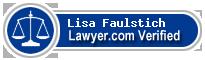 Lisa D. Faulstich  Lawyer Badge