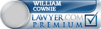 William Garry Cownie  Lawyer Badge
