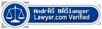 André Robert Bélanger  Lawyer Badge