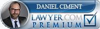 Daniel J. Ciment  Lawyer Badge