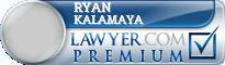 Ryan Andrew Kalamaya  Lawyer Badge