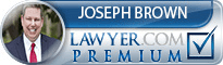 Joseph L. Brown  Lawyer Badge