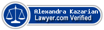 Alexandra S. Kazarian  Lawyer Badge