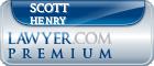 Scott Daniel Henry  Lawyer Badge