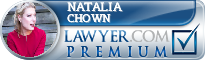 Natalia Chown  Lawyer Badge