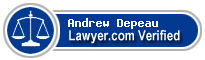 Andrew A Depeau  Lawyer Badge