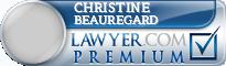 Christine Michelle Beauregard  Lawyer Badge