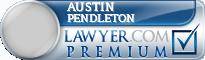Austin Jared Pendleton  Lawyer Badge