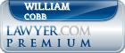 William Wyman Cobb  Lawyer Badge