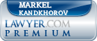 Markel Kandkhorov  Lawyer Badge