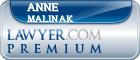 Anne Clarke Malinak  Lawyer Badge