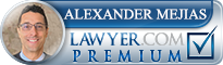 Alexander W. Mejias  Lawyer Badge