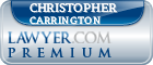 Christopher P. Carrington  Lawyer Badge