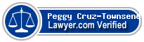 Peggy Cruz-Townsend, Esq.  Lawyer Badge