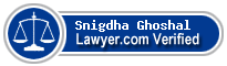 Snigdha Ghoshal  Lawyer Badge