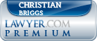 Christian Smith Briggs  Lawyer Badge